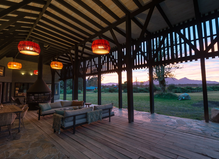 Chili Voyage Futangue Parc terrasse