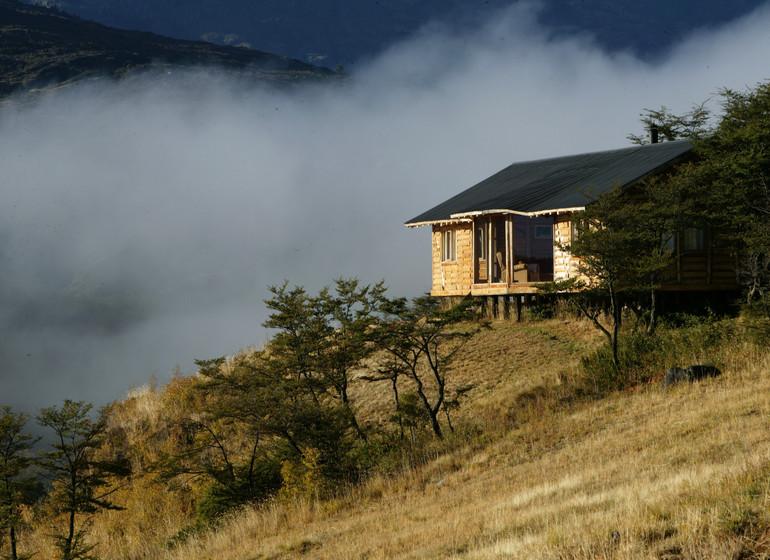 Chili Voyage Carreterra Austral Mallin Colorado bungalow extérieur