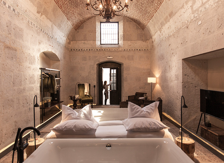Pérou Voyage Cirqa hotel Arequipa suite I