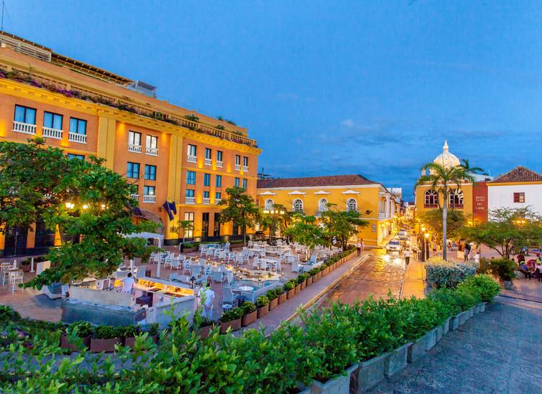 Colombie voyage Cartagena Charleston Santa Teresa exterieur
