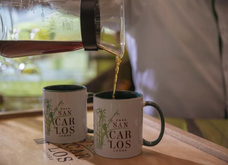 Colombie Voyage Casa San Carlos Lodge mugs
