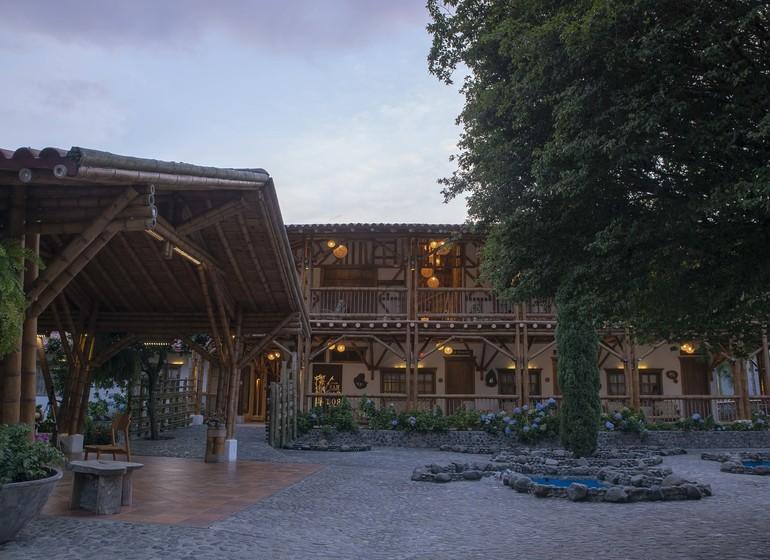 Colombie Voyage Casa San Carlos Lodge exterieur