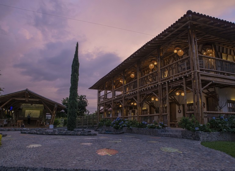 Colombie Voyage Casa San Carlos Lodge exterieur II