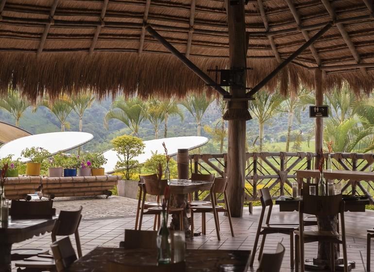Colombie Voyage Casa San Carlos Lodge terrasse