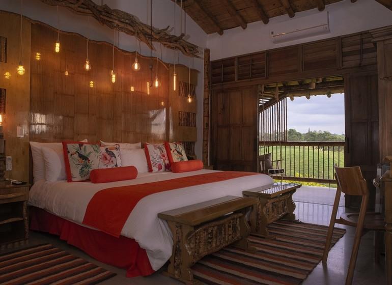 Colombie Voyage Casa San Carlos Lodge chambre double I