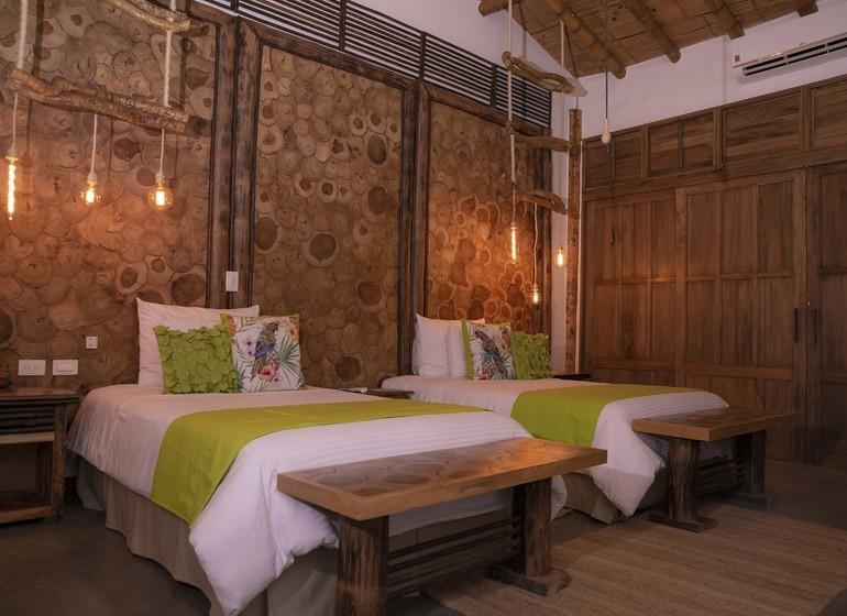 Colombie Voyage Casa San Carlos Lodge chambre twin I