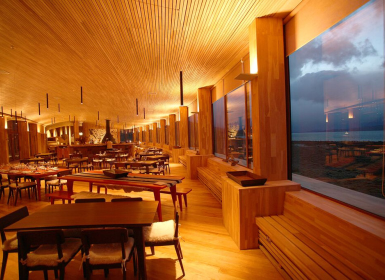 Chili Voyage Tierra Patagonia restaurant