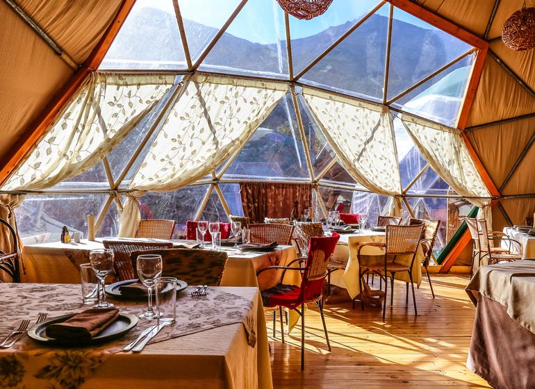 Chili Voyage Torres del Paine Ecocamp restaurant
