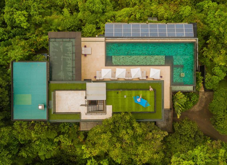 Costa Rica Voyage Kura Design Villas vue du ciel