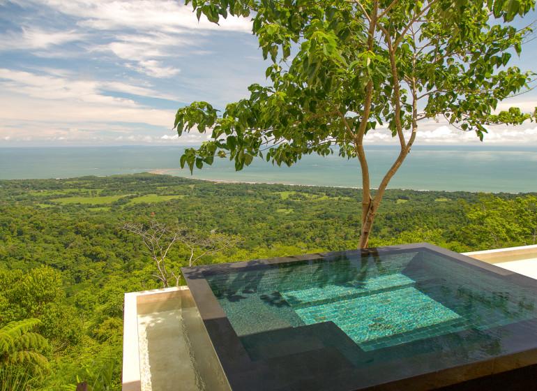 Costa Rica Voyage Kura Design Villas piscine avec vue