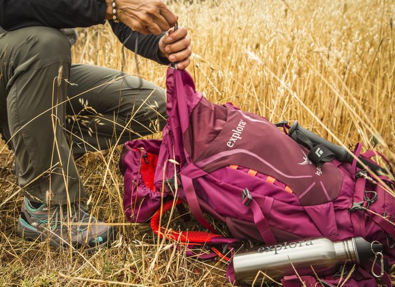 Pérou Voyage Explora Vallée Sacrée guide avec sac à dos