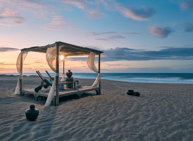 Brésil Voyage Zorah Beach Baldacchin sur la plage