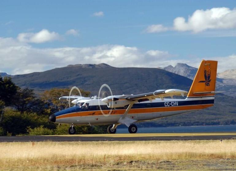 Voyage Chili Patagonie Isla Navarino arrivée en petit avion