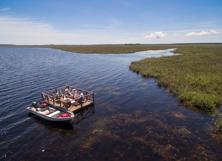 Argentine Voyage Esteros del Ibera Puerto Valle excursion sur l'eau
