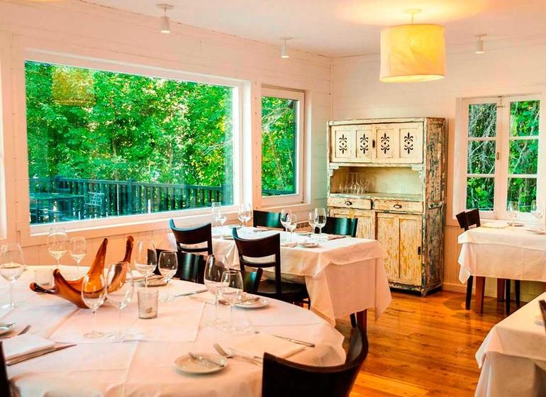 Argentine Voyage Lago Huapi Hosteria Escondida salle à manger
