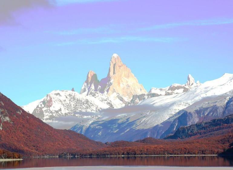 Argentine Voyage Patagonie Aguas Arriba Lodge Vue sur Fitz Roy