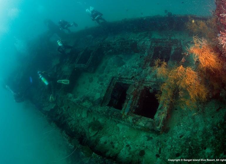 Voyage asie philippines palawan coron sangat island dive resort
