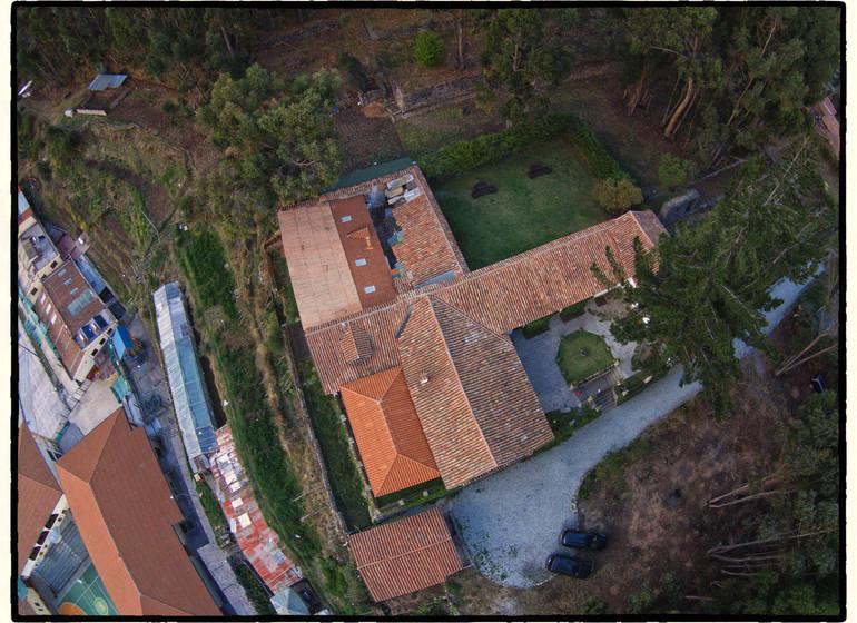 Pérou Voyage Cusco Palacio Manco Capac vue du ciel