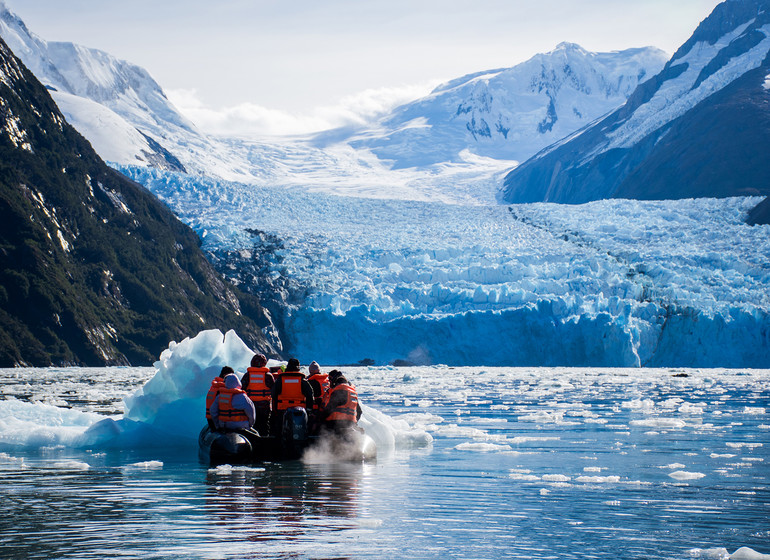 Chili Patagonie Voyage Croisière en zodiac