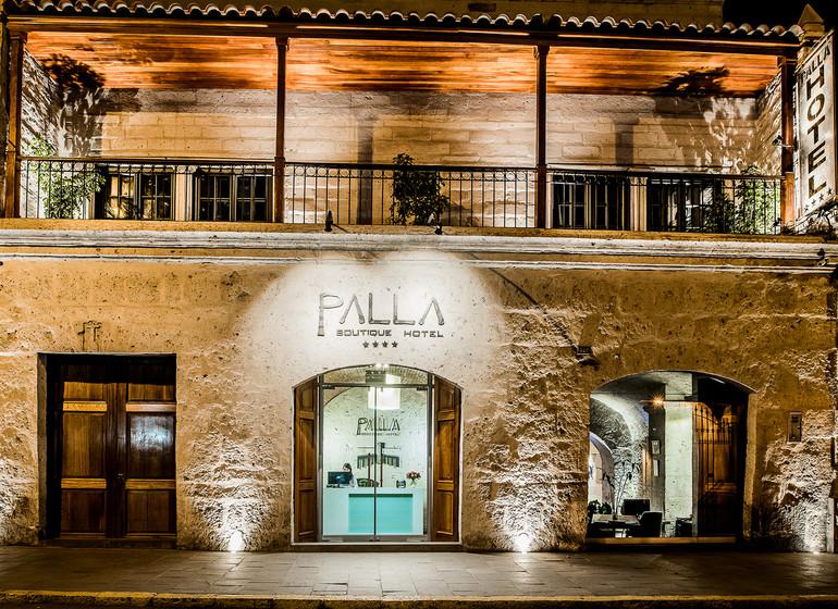 Pérou Voyage Arequipa Palla Boutique façade entrée