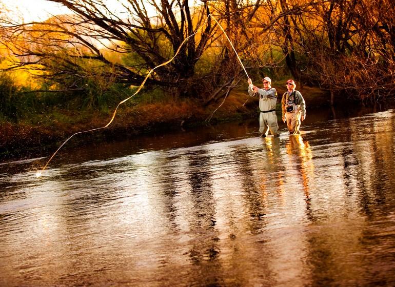 Argentine Voyage Région des Lacs Tipiliuke fly fishing