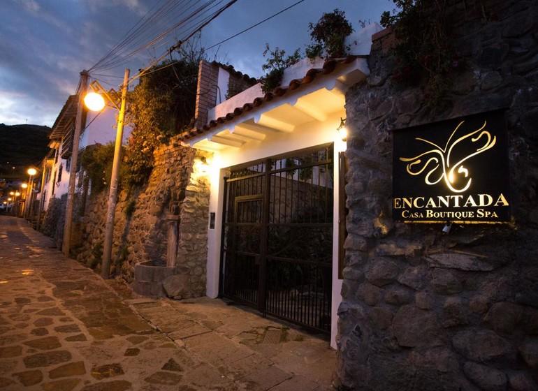 Pérou Voyage Cusco Hotel Encantada façade entrée