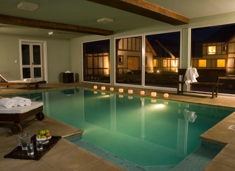 Argentine Patagonie El Calafate Eolo Lodge spa piscine interieur