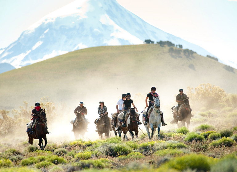 Argentine Voyage Patagonie Huechahue Ranch au galop