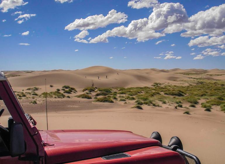 Argentine Voyage Valdès Rincon Chico excursion 4X4