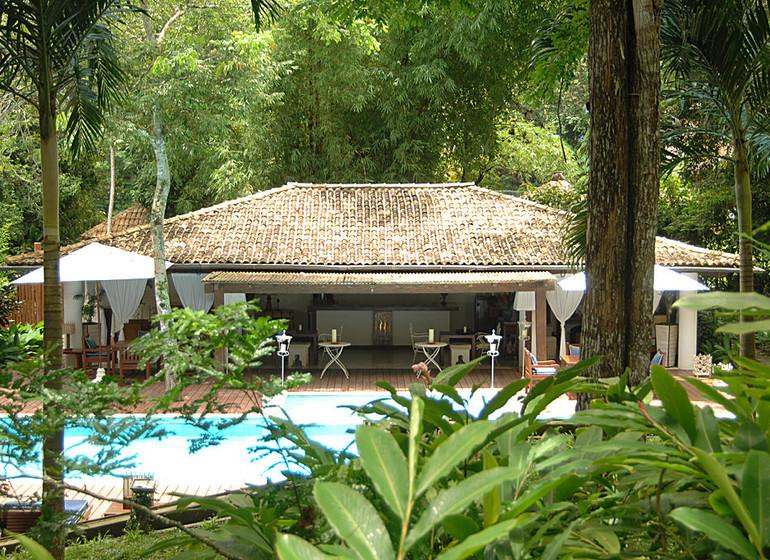 Brésil Voyage Trancoso Pousada Etnia maison