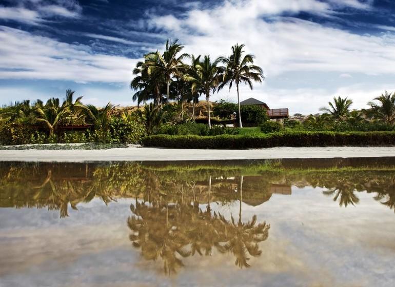 Pérou Voyage Mancora Kichic Hotel vue depuis la mer