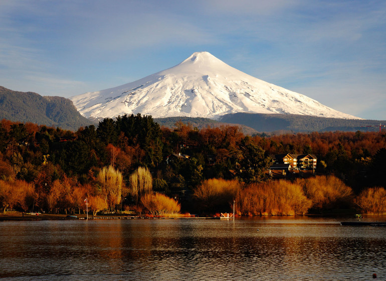 Chili Voyage Villarica Volcano