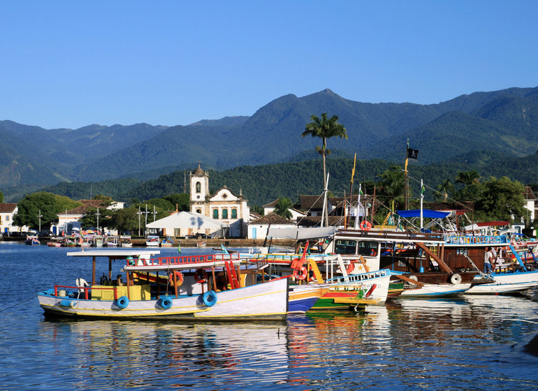 Brésil Voyage Paraty port
