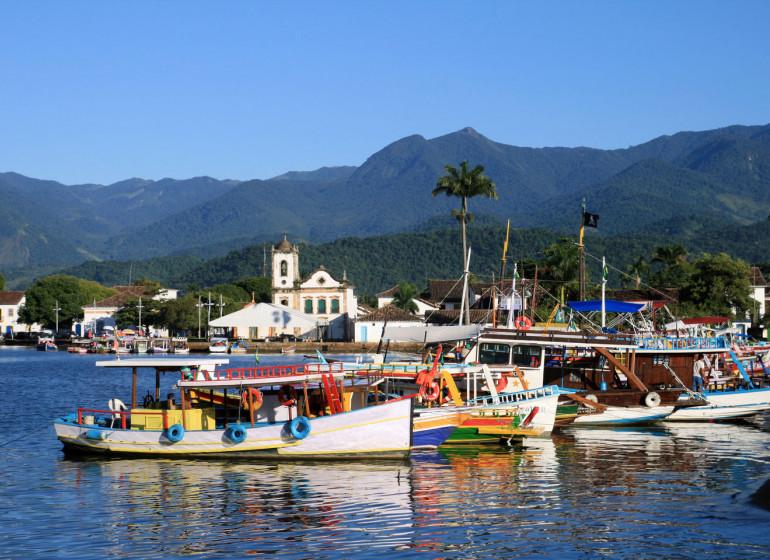 Brésil Voyage Paraty bateaux