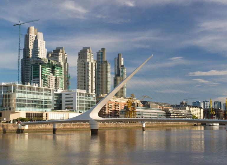 Argentine Voyage Buenos Aires Puente de la Mujer