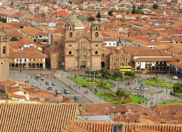 Pérou Voyage Cusco Plaza de Armas