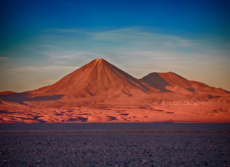 Chili Voyage Atacama volcan Licancabur