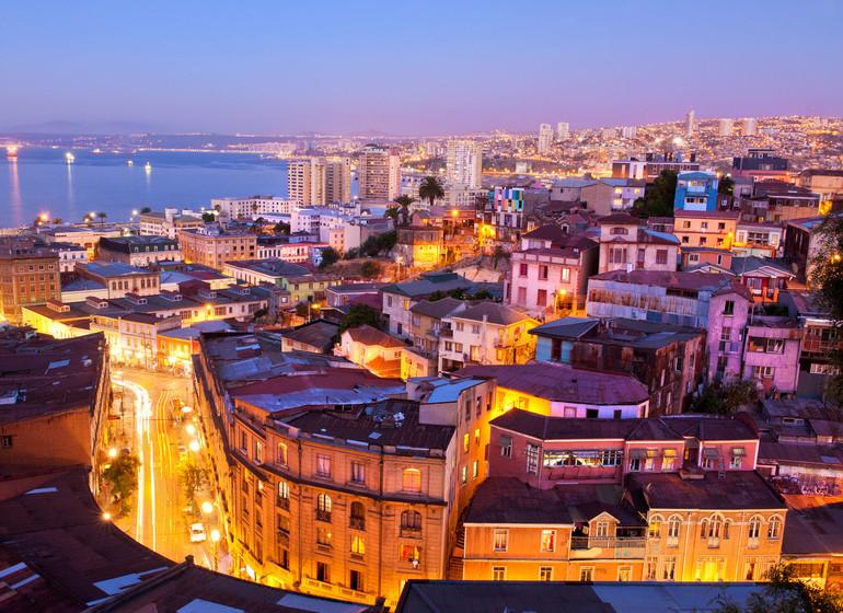 Chili Voyage Valparaiso vue sur la ville