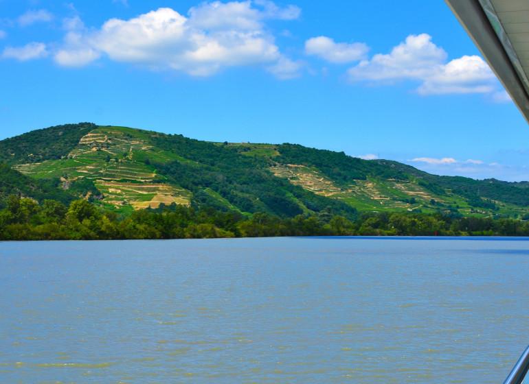 Croisière fluviale sur le Rhône