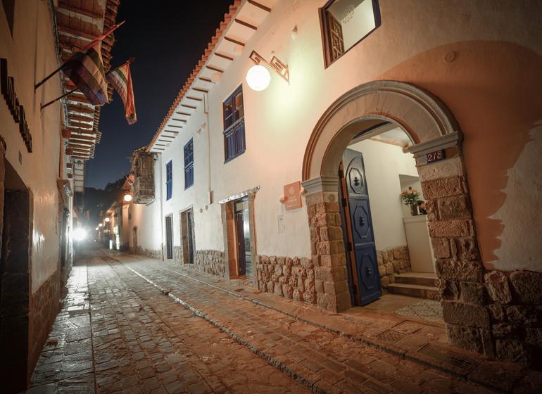 Pérou Voyage Cusco Quinta San Blas calle