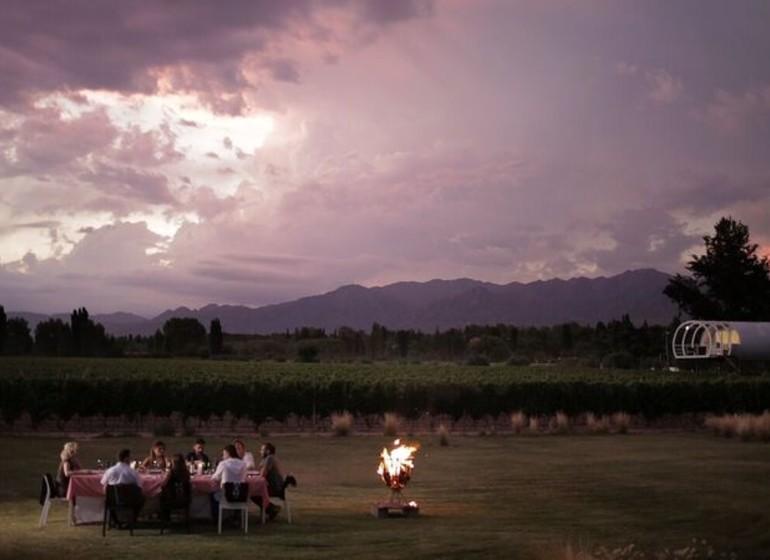 Argentine Voyage Mendoza Entre Cielos dîner sous les étoiles
