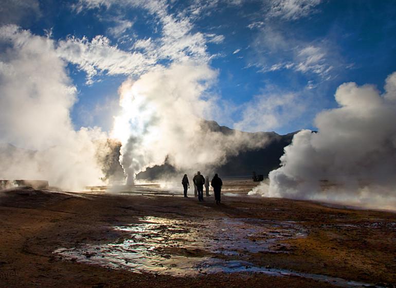 Chili Voyage geyser du Tatio