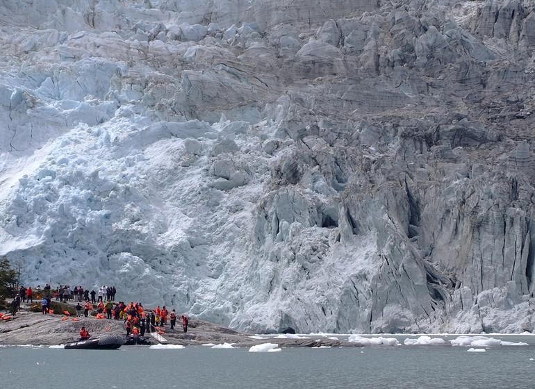 Chili Patagonie Voyage Croisière avenue des glaciers