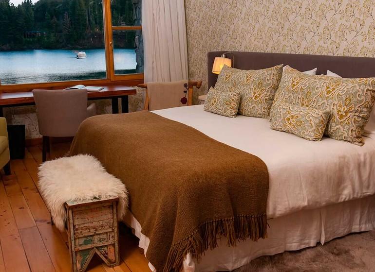 Argentine Voyage Lago Huapi Hosteria Escondida Chambre I