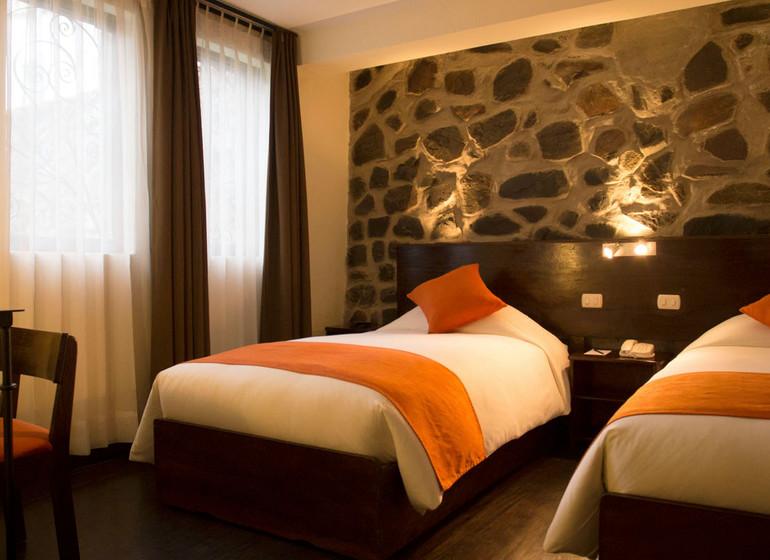 Pérou Voyage Cusco Hotel Encantada chambre twin I