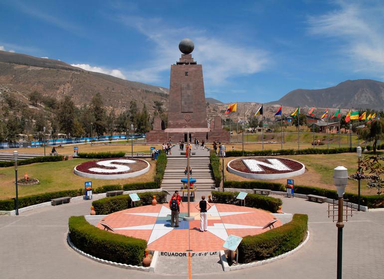 Equateur Voyage Quito mitad del Mundo