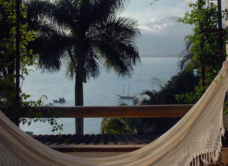Brésil Voyage Picinguaba Pousada hamac