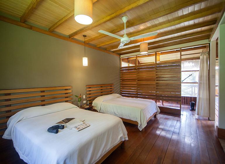 Pérou Voyage Amazonie Nord Heliconia River Lodge chambre twinII