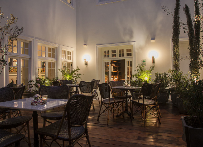 Pérou Voyage Lima Hotel B restaurant