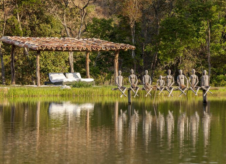 Brésil Voyage Minas Gerais Ibitipoca art sur l'eau